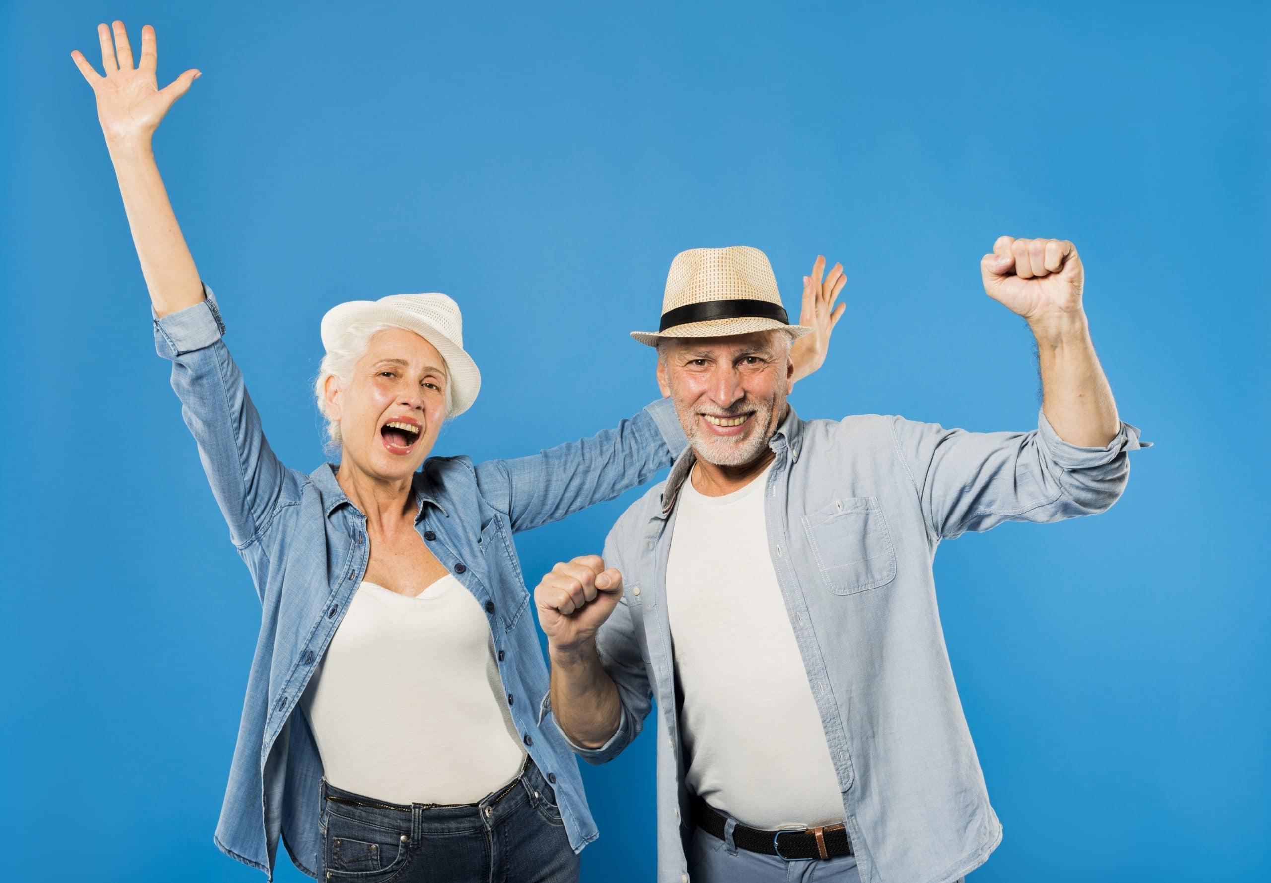 Seniors joyeux