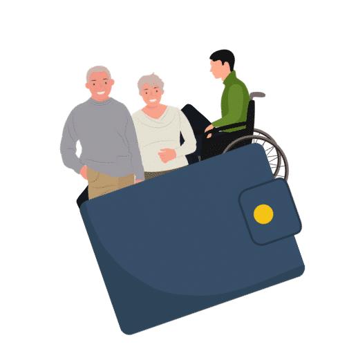 Portefeuille Seniors et personnes en situation de handicap